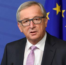 Jean-Claude Juncker , preşedintele Comisiei Europene