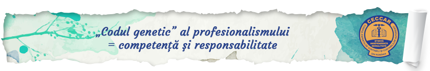 """""""Codul genetic"""" al profesionalismului = competenţă şi responsabilitate"""