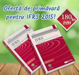 Ofertă de primăvară pentru IFRS 2015