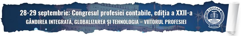 Congresul profesiei contabile, ediția a XXII-a